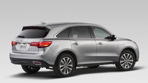 2014 Acura MDX (Credit: American Honda)