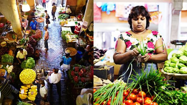 Bustling markets (Credit: Mark Read)