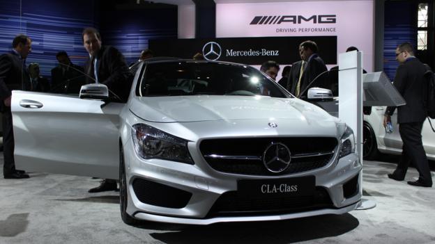 2014 Mercedes-Benz CLA45 AMG (Credit: Jeffrey Jablansky)
