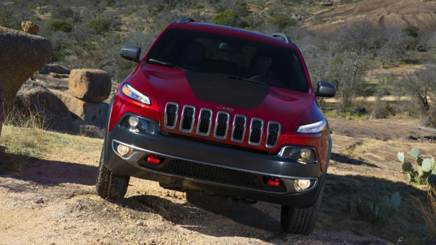 2014 Jeep Cherokee (Credit: Chrysler Group)