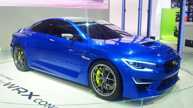 Subaru WRX Concept (Credit: Jonathan Schultz)