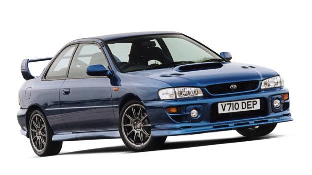 1999 Subaru Impreza WRX P1 (Credit: Subaru Cars)