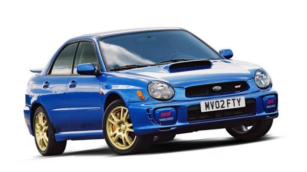 2000 Subaru Impreza WRX (Credit: Subaru Cars)
