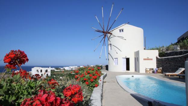 Windmill Villa Santorini, Greece (Credit: Windmill Villa Santorini)
