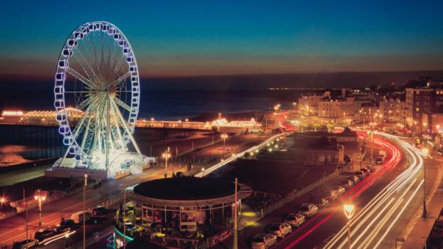 A bright city (Credit: Getty)