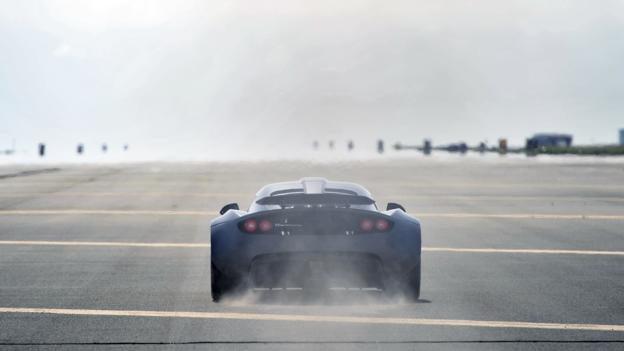 The shape of a speed record (Credit: Hennessey Performance)