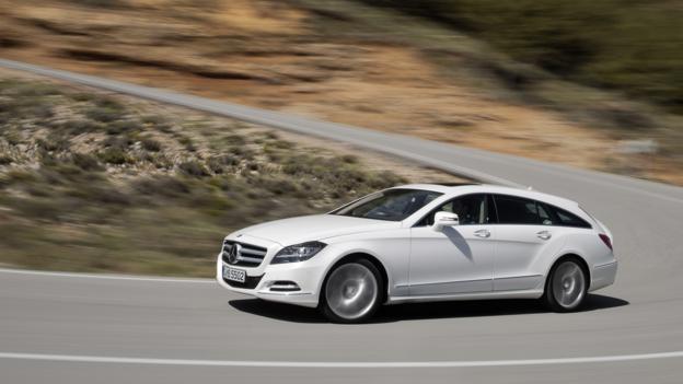 2013 Mercedes-Benz CLS 350 Shooting Brake (Credit: Daimler)