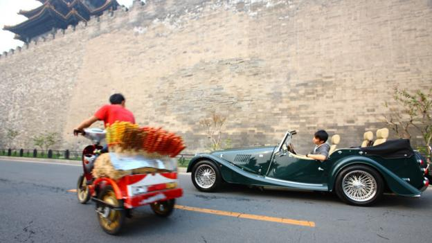 Cultural exchange (Credit: Malvern Morgan Cars Beijing)