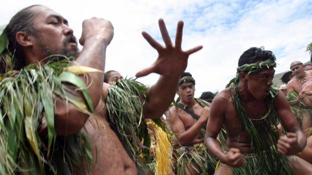 Tribal dances (Credit: Gregory Boissy/AFP/Getty)