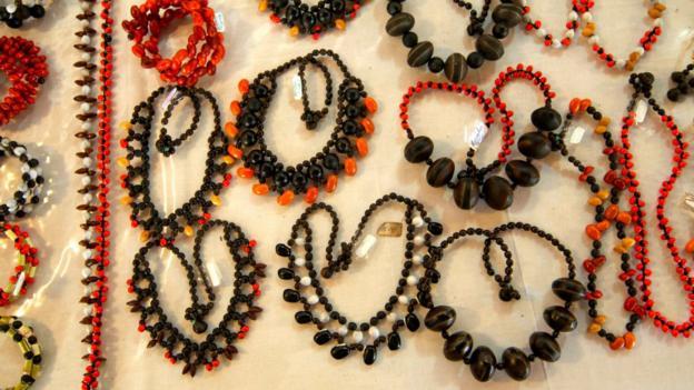 Marquesan handicrafts (Credit: Aranui 3)