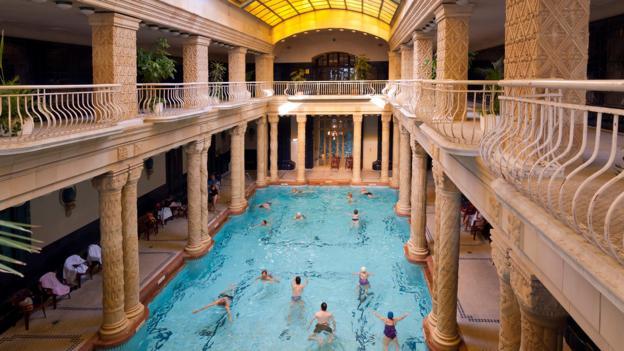 Indoor swimming (Credit: Danita Delimont/Getty)