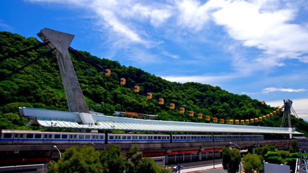 Taipei's Jiantan MRT station (Credit: Imagemore Co Ltd)