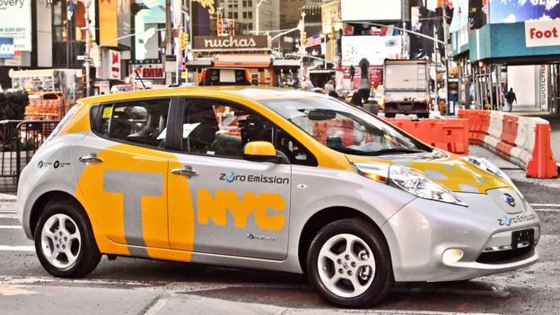 Electric avenue (Credit: Nissan North America)