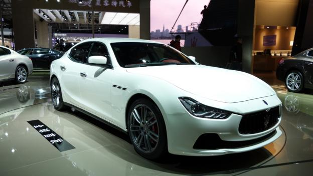 Maserati Ghibli (Credit: Newspress)