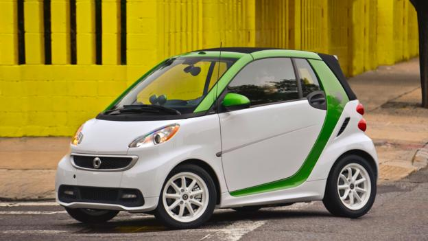 2013 Smart Fortwo Electric Drive (Credit: Mercedes-Benz USA)