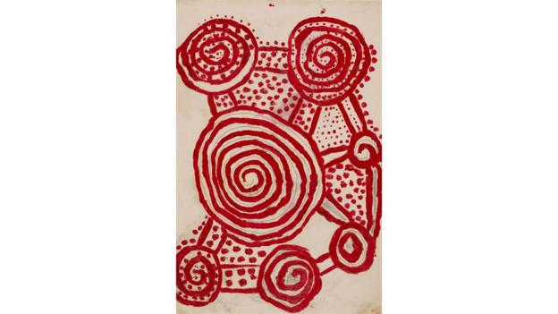 Papunya Tula works on paper (Credit: Art Gallery of New South Wales)