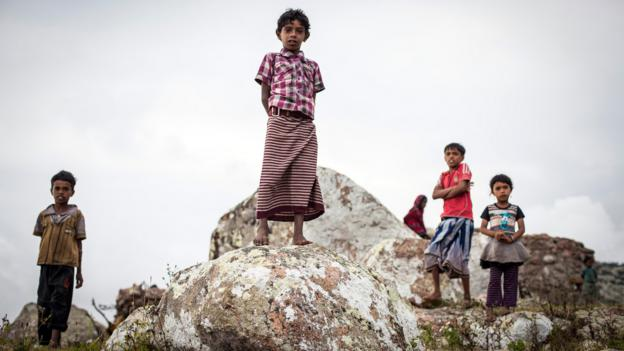 The children of Socotra (Credit: Juan Herrero)