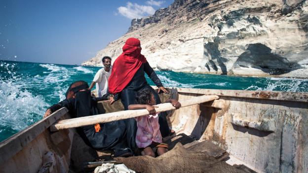 A fisherman's family from Matief (Credit: Juan Herrero)