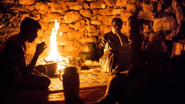 A stone hut on the Dixam plateau (Credit: Juan Herrero)