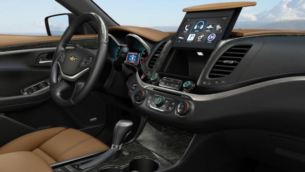 The interior of the 2014 Chevrolet Impala LTZ. (General Motors)