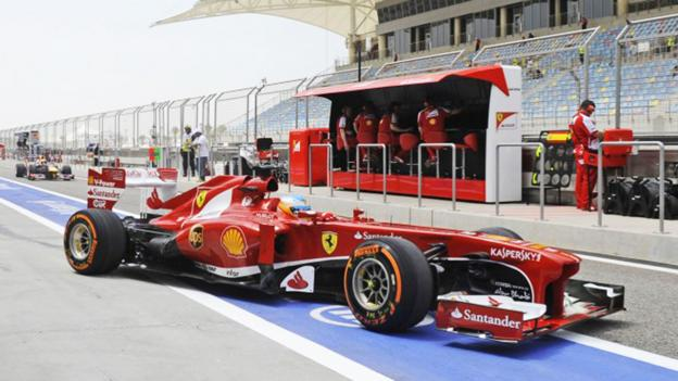 Open-wheel rocketships (Credit: Ferrari)