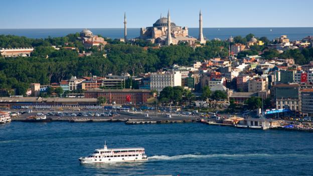 The Bosphorus (Credit: Jean-Pierre Lescourret/Getty)
