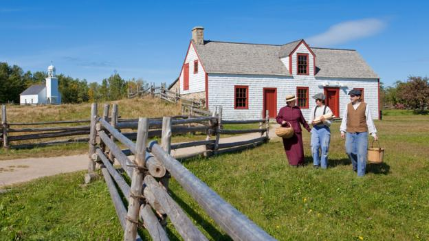 Acadian Historic Village (Credit: Renault Philippe/hemis.fr/Getty)