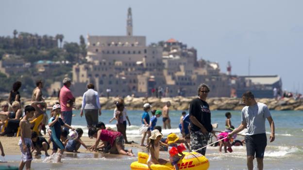 Tel Aviv (Credit: Jack Guez/AFP/Getty)