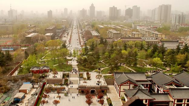 Xi'an, China (Credit: davidhuiphoto/Getty)
