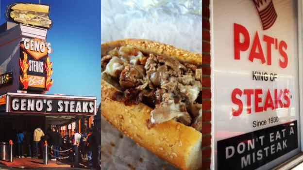 South Philly cheesesteak rivals (Credit: Caitlin Zaino)