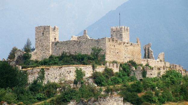 The Castello di Brescia (Credit: Dea/G Carfagna)
