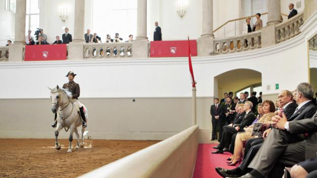 The Spanish Riding School (Credit: Dmitry Astakhov/AFP/Getty)