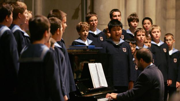 The Vienna Boys Choir (Credit: Markus Lodolter/AFP/Getty)