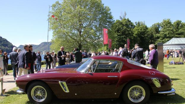 1961 Ferrari 250 GT SWB Berlinetta (Credit: Eric Gallina)