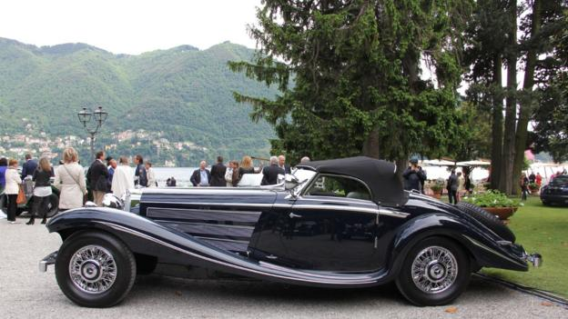 1936 Mercedes 500K Spezial Roadster (Credit: Eric Gallina)