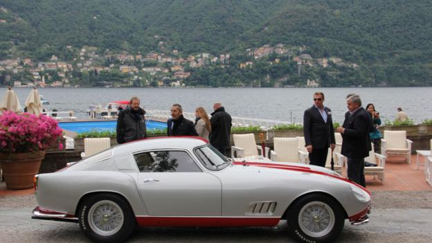 1958 Ferrari 250 GT Tour de France Berlinetta Scaglietti (Credit: Eric Gallina)