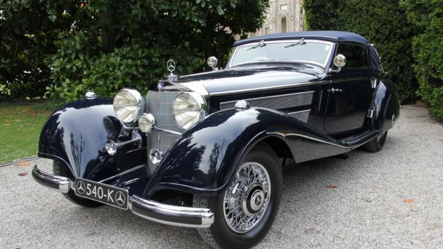1937 Mercedes 540K (Credit: Eric Gallina)