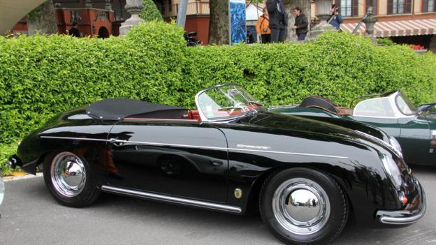 1957 Porsche 356A Speedster (Credit: Eric Gallina)