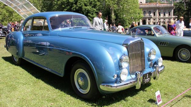1952 Bentley R-Type Continental (Credit: Eric Gallina)