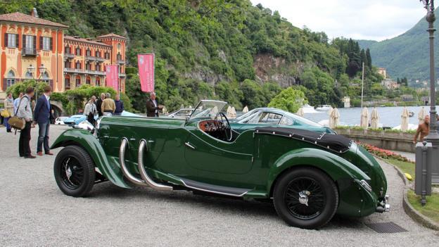 1937 Lagonda LG45 Rapide (Credit: Eric Gallina)