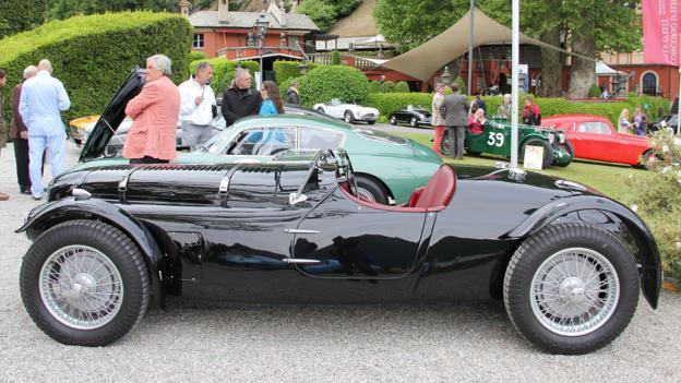 1948 Aston Martin 2-Litre Sports (Credit: Eric Gallina)
