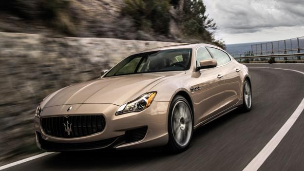 2013 Maserati Quattroporte (Credit: Maserati)