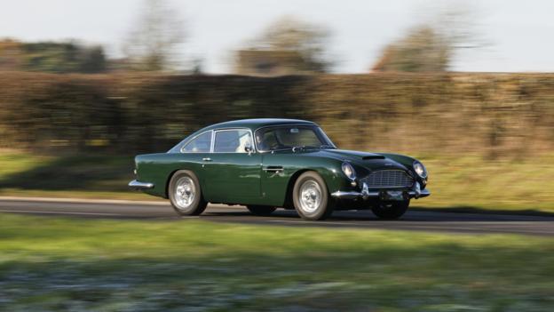 Aston Martin DB5 (Credit: Aston Martin)