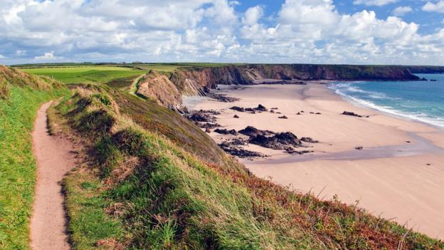 Marloes Sands (Credit: Ron Evans/Getty)