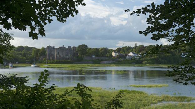 Laugharne Castle (Credit: Pete Seaward)