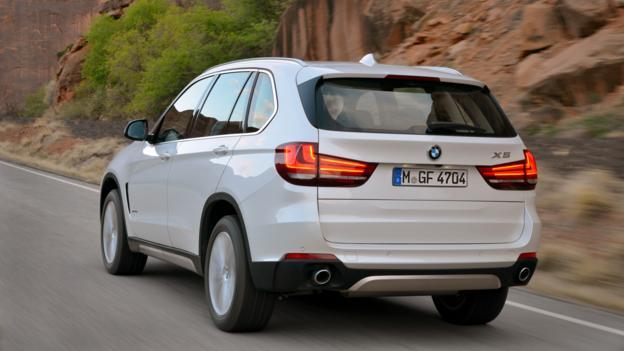2014 BMW X5 (Credit: BMW of North America)