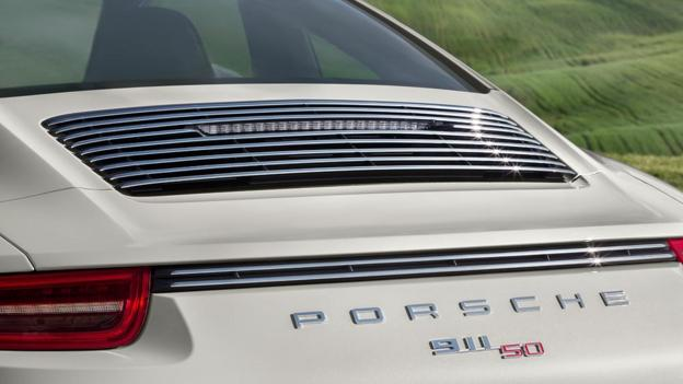 Porsche 911 50th Anniversary Edition (Credit: Porsche Cars North America)