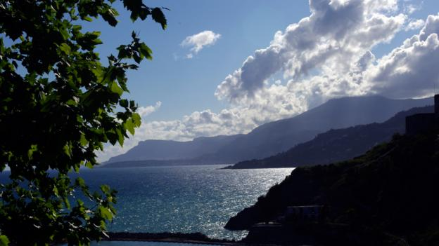 The view from Ventimiglia (Credit: Katie Beck)