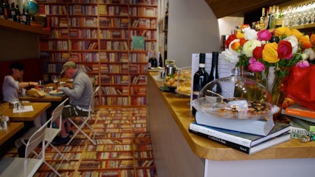The stylish Bookaffe in Ventimiglia (Credit: Katie Beck)