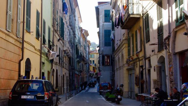Ventimiglia's via Garibaldi (Credit: Katie Beck)